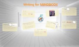 Writing for MINDBODY