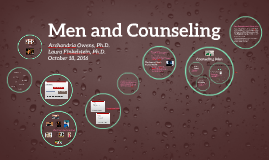 Men's Issues in Counseling
