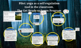 Get Ready to Learn Yoga Program for the Classroom ...