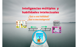 Habilidades vs inteligencias