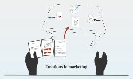 Emotions in marketing