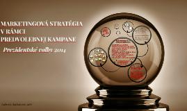 Marketingová stratégia