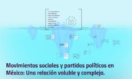 Movimientos sociales y partidos políticos en México:::