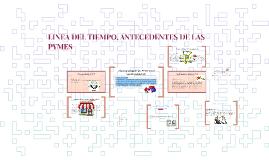 Copy of LINEA DEL TIEMPO, ANTECEDENTES DE LAS PYMES