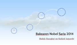 Bakearen Nobel Saria 2014