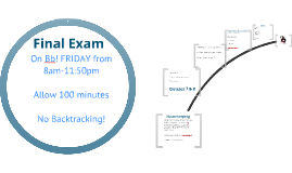 322 Final Exam Review