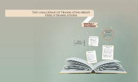 Translations Essay