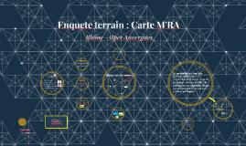 Enquete terrain : Carte M'RA