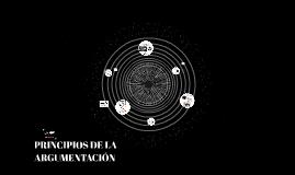 Copy of PRINCIPIOS DE LA ARGUMENTACIÓN