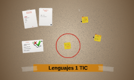 Lenguajes 1 TIC