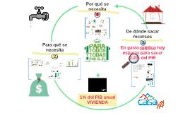 Casa YA: justificación 1% PIB vivienda (versión resumida)