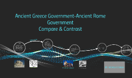 compare and contrast greece and rome