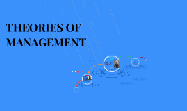 Copy of THEORIES OF MANAGEMENT