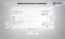 Administracion Economica y Mercados