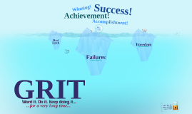 Copy of GRIT! Want it. Do it. Keep doing it.