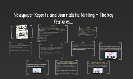 Copy of Journalistic Writing - The key features...