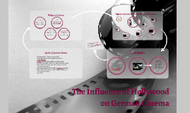 The Influence of Hollywood on German Cinema