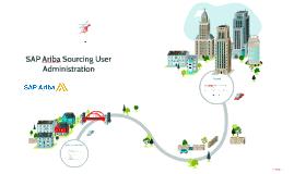 SAP Ariba Sourcing User Administration