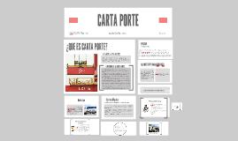 CARTA PORTE