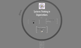 Systems Thinking in Organizations