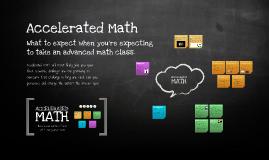 Copy of Accelerated Math Prezi