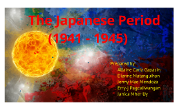 Copy of Japanese Period