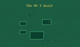 The PC I built
