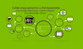 A whole campus approach to 1:1 iPad implementation