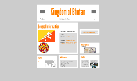 Copy of Kingdom of Bhutan