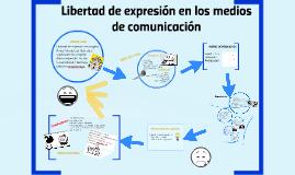 Libertad de expresión en los medios de comunicación