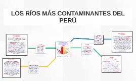 Los Ríos más contaminados de Perú