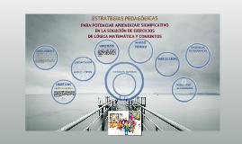 SUSTENTACIÓN DEL PROYECTO DE INVESTIGACIÓN