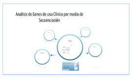 Analisis de Genes de uso Clínico por medio de Secuenciación