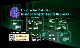 Crest Factor Reduction based on ANN