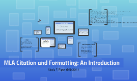 MLA is a system of formatting your paper and citing the sour