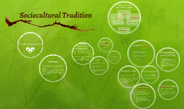 Copy of Sociocultural Tradition