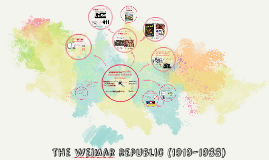 Copy of The first steps of the weimar republic