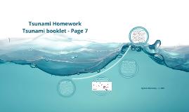 Tsunami Homework