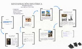 Copy of RESTAURACIÓN HISTÓRICA