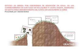 ESTUDIO DE RIESGO POR FENOMENOS DE REMOCIÓN EN MASA EN LOS C