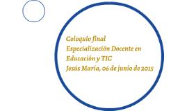 Coloquio final