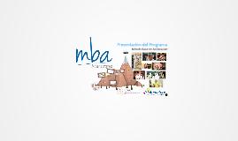 Presentación del Programa MBA - Oficinas