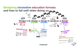 Designing innovative education formats and how to fail well