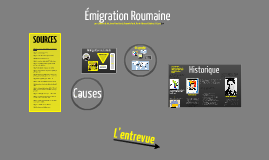Copy of Émigration - Roumanie