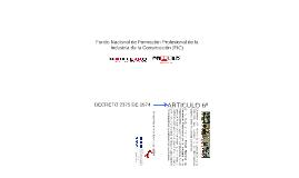Fondo Nacional de Formación Profesional de la Industria de l