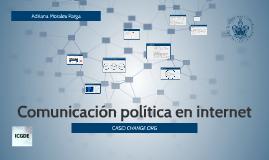 Comunicación política en internet