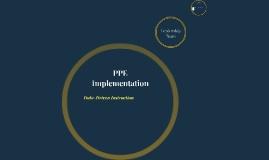 PPE Implementation