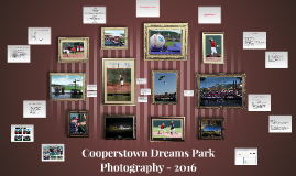 2016 Cooperstown Dreams Park Photography Training