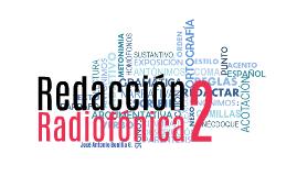 Copia de Redacción Radiofónica II