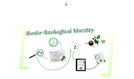 Socio-Ecological Identity